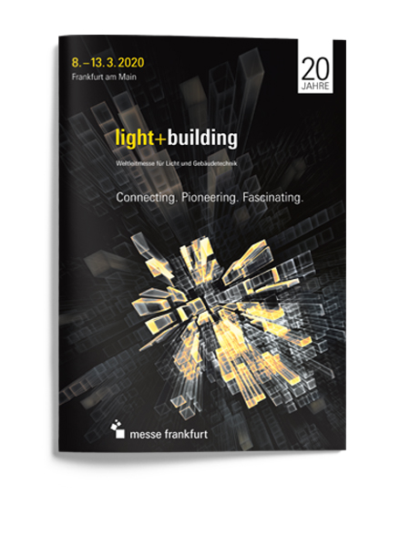 Reference for the Light + Building - overall communication for Light + Building 2020 by PUNKTUM Werbeagentur